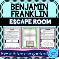 Benjamin Franklin Escape Room Picture