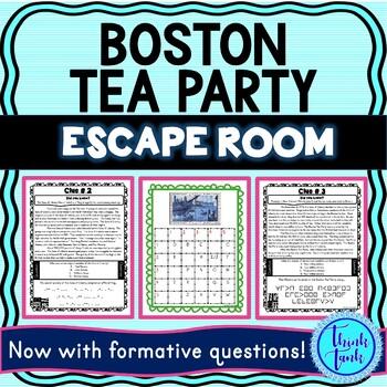 Boston Tea Party ESCAPE ROOM picture