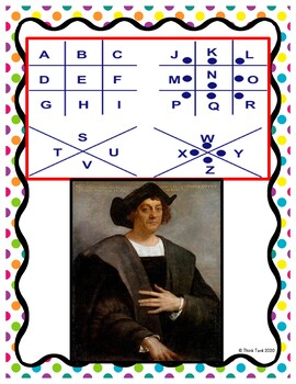 Christopher Columbus PUZZLE STATIONS Activity - Columbus Day picture