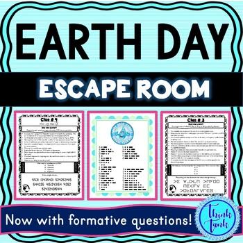 Earth Day Escape Room Cover