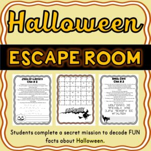 Halloween Escape Room – October Activity