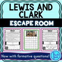 Lewis and Clark Escape Room Picture