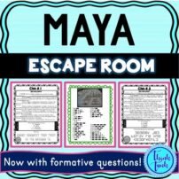 Maya Escape Room Picture