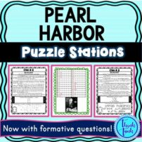 Pearl Harbor puzzle stations cover