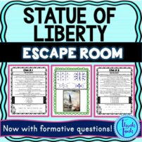 Statue of Liberty escape room picture