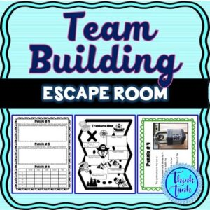 Team Building Escape Room – Any Content – Teamwork Challenge