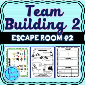 Team Building 2 Escape Room – Any Content – Teamwork Challenge