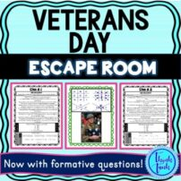 Veterans Day Escape Room picture