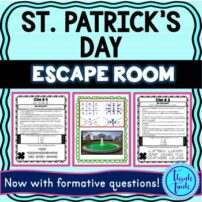 St Patrick's Day Escape Room Cover