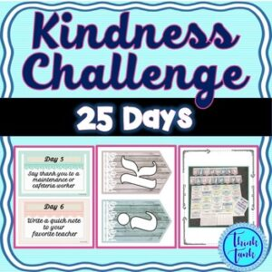 Kindness Challenge: 25 Days of Kindness, Random Acts of Kindness