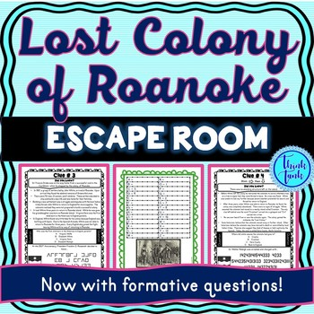 Lost Colony Of Roanoke Escape Room John White Virginia
