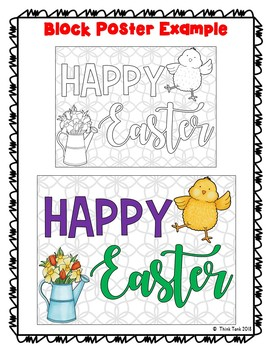 Easter Collaborative Poster! – Team Work Activity