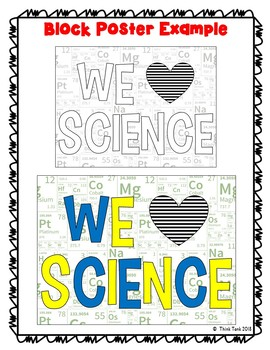 Science Collaborative Poster! Team Work – We Love Science