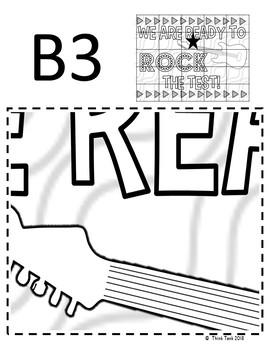 Test Prep BUNDLE: Escape Room and Collaborative Poster