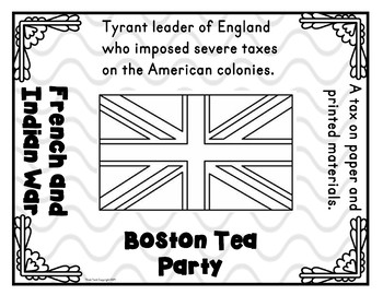 Revolutionary War Causes Activity – Full Size Group Tarsia Puzzle! American Revolution