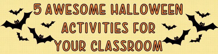 halloween activities for the classroom