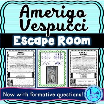 Amerigo Vespucci ESCAPE ROOM: Explorer – America
