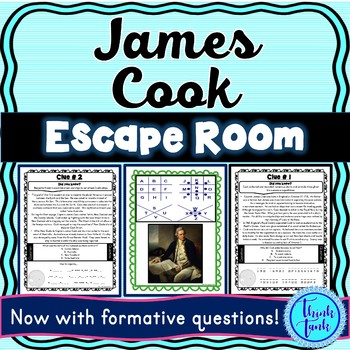 Captain James Cook ESCAPE ROOM: European Explorers