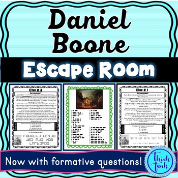 Daniel Boone ESCAPE ROOM: Explorer – Cumberland Gap