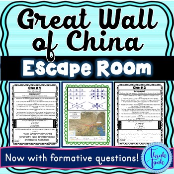 Great Wall of China ESCAPE ROOM: Mongols and Chinese Dynasties
