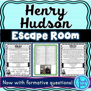 Henry Hudson ESCAPE ROOM: Explorers – Northwest Passage