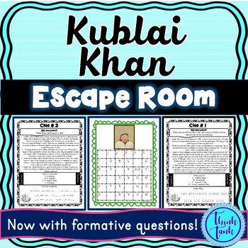 Kublai Khan ESCAPE ROOM: Mongol Empire – Yuan Dynasty