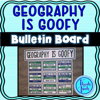 Geography Jokes Bulletin Board – Classroom Posters