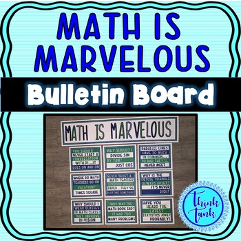 Math Jokes Bulletin Board – Classroom Posters
