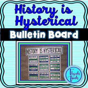 U.S. History Jokes Bulletin Board – Classroom Posters