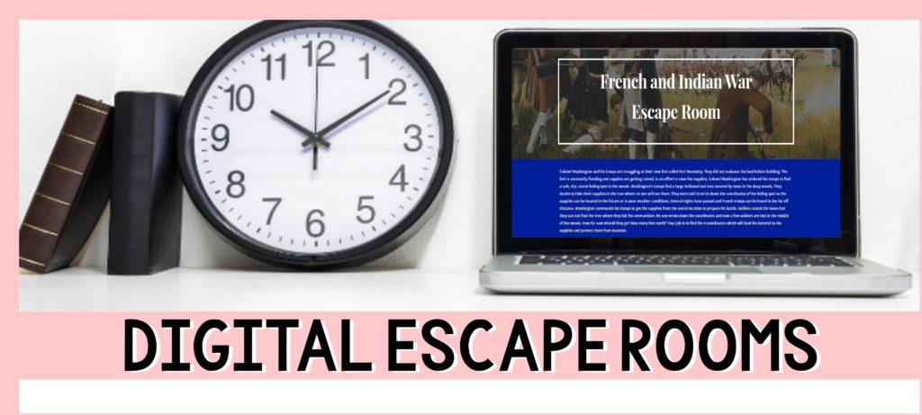 Think Tank Escape Rooms for the Classroom