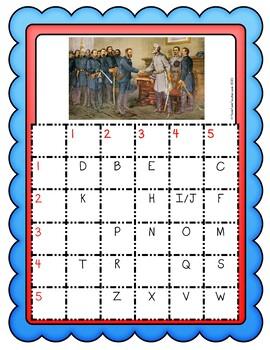 Civil War Escape Room Activity - Abraham Lincoln and Emancipation Proclamation pic 2