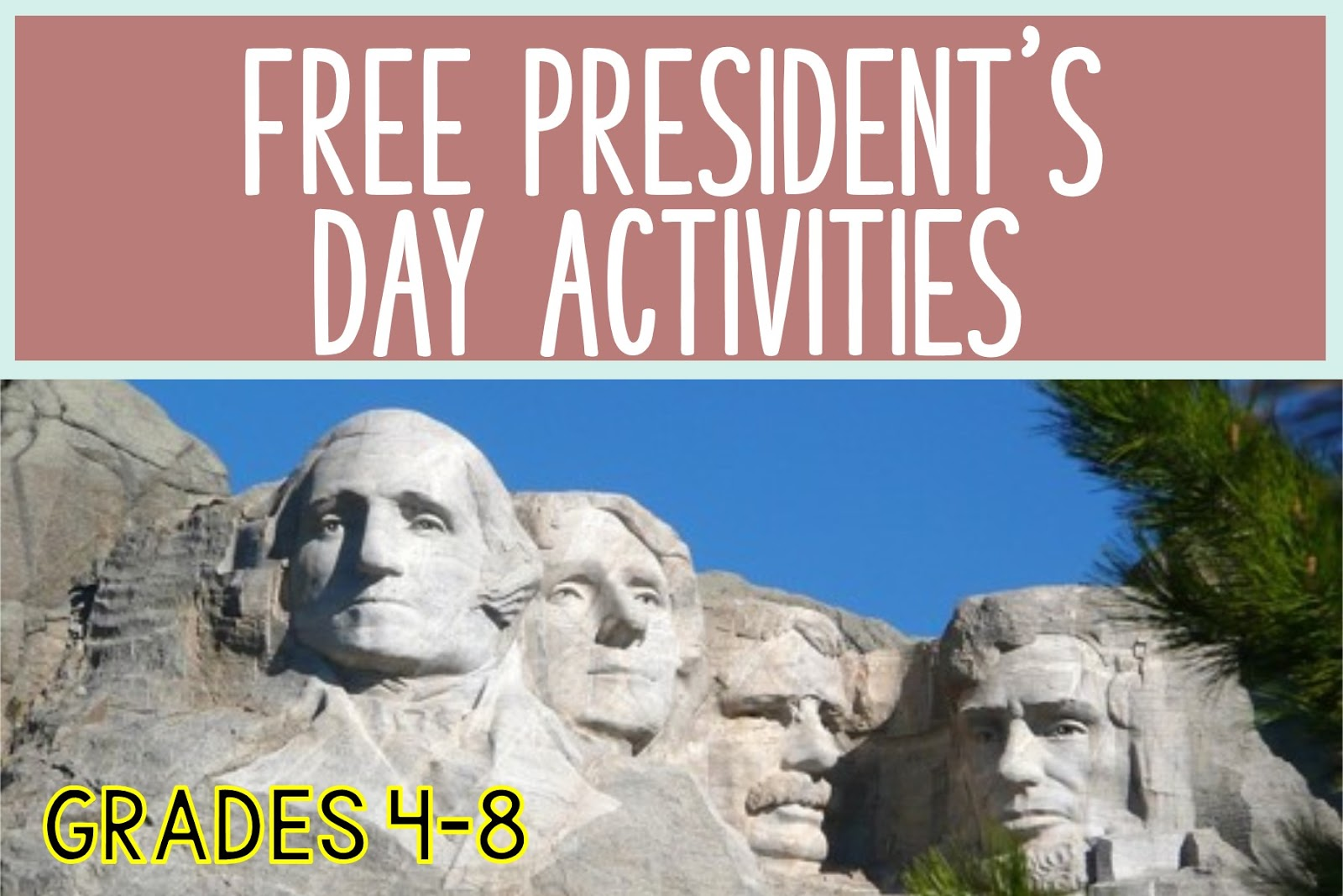 Presidents Day Educational Activities