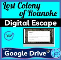 Lost Colony Digital Escape Room cover