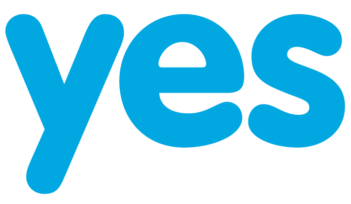 Big picture of the word YES