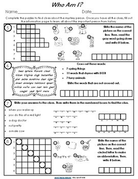 Presidents Day Learning Activity for Classroom