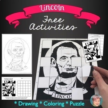 Lincoln Free Learning Activities for the classroom