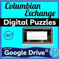 Columbian Exchange Digital Escape Room picture