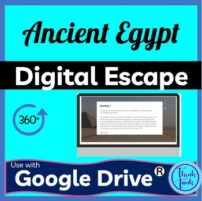 ancient egypt digital escape room picture