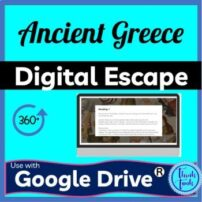 ancient greece digital escape room picture