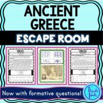 Ancient Greece Escape room picture