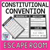 Constitutional Convention Escape Room Activity picture