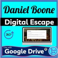 Daniel Boone Digital Escape Room Picture