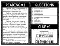 Great Wall of China Escape Room Activity picture