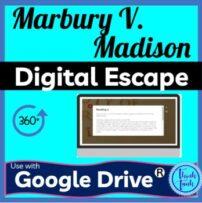 Marbury v. Madison DIGITAL ESCAPE ROOM picture