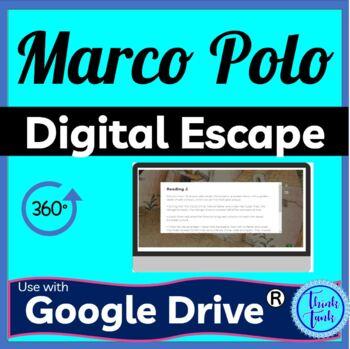Marco Polo Digital Escape Room Picture