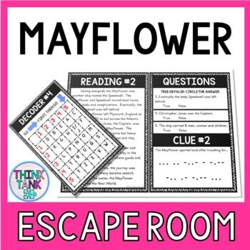 Mayflower Escape Room Activity picture