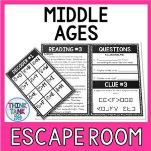 Middle Ages Escape Room Activity picture