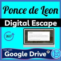 Ponce De Leon Digital Escape Room Picture