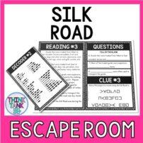 Silk Road Escape Room Activity picture