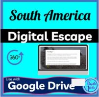 South America Digital Escape Room Picture
